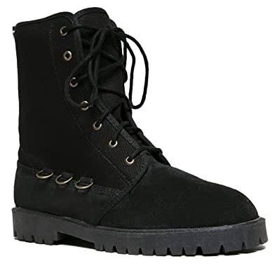 8639682c70af Chinese Laundry Watson Lace Up Utility Moto Round Toe Hardware Ankle Boot  Bootie 6.5 Black