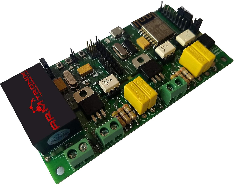 ARMtronix NodeMCU WiFi 2 Relay Board Triac with ESP8266 for Home Automation on