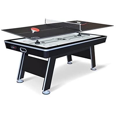 EastPoint Sports NHL Power Play Hover Hockey Table with Table Tennis Top, 80-inch : Tabletop Table Tennis Games : Sports & Outdoors