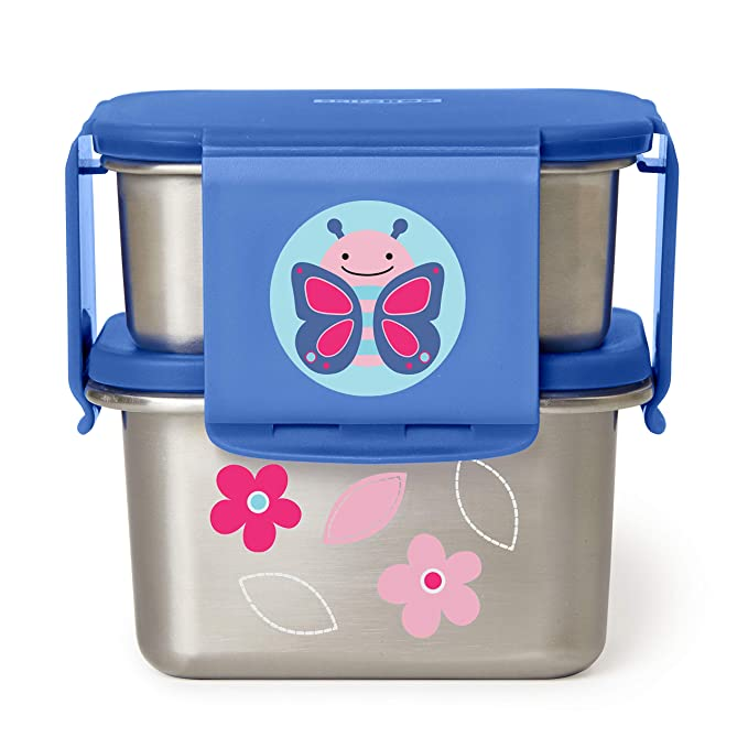 Skip Hop Zoo Smart servir 3PK Bols-Licorne Toddler Feeding Entièrement neuf sous emballage