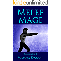 Melee Mage: Fledgling God: book 2 book cover