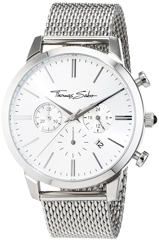 6d18f356169cf9 Thomas Sabo Men's Watch Rebel Spirit Chrono silver Analogue Quartz:  Amazon.co.uk: Watches