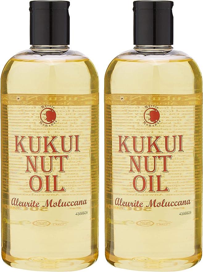 Mystic Moments Kukui - Aceite para transportar nueces (1 L, 100% puro): Amazon.es: Hogar