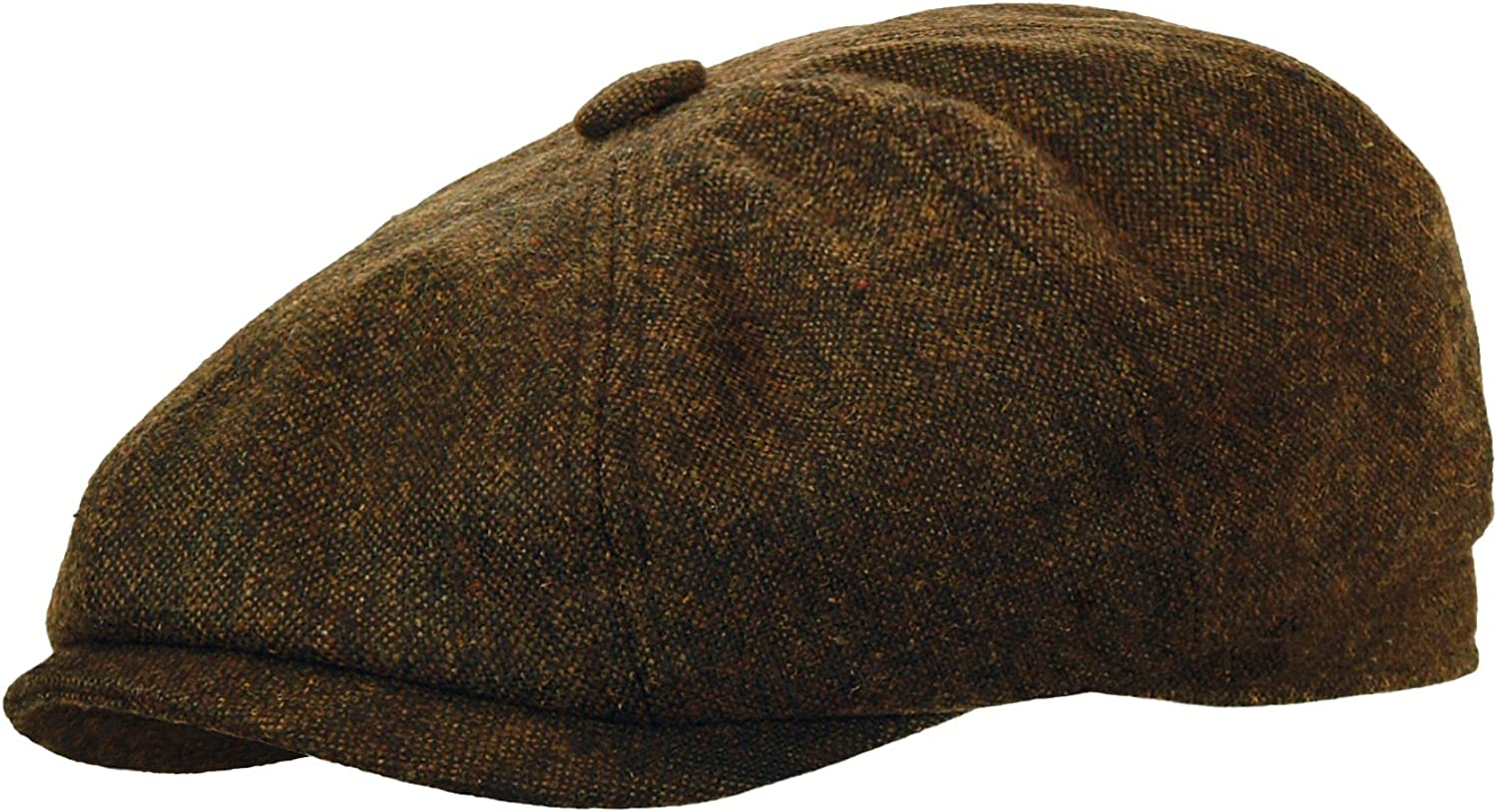 Rooster Wool Tweed Newsboy Gatsby Cap Ivy Golf Hat Driving Cabbie