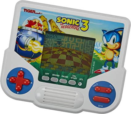 Amazon Com Tiger Electronics Sonic The Hedgehog 3 Electronic Lcd Video Game Retro Inspired Edition Handheld 1 Player Game Ages 8 And Up Toys Games