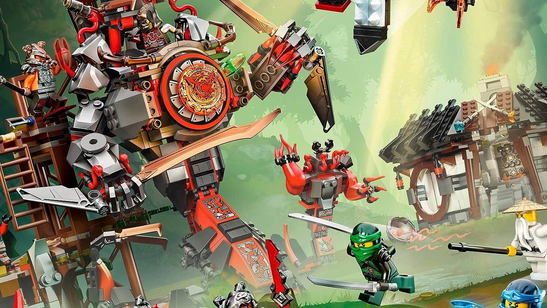 1000 rompecabezas para niños y adultos Lego Ninja Movie Un giro brusco del cerebro, juegos desafiantes, juguetes coloridos