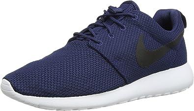 Nike Roshe One, Zapatillas de Running para Hombre, Azul Midnight Navy Black White, 38,5 EU: Amazon.es: Zapatos y complementos