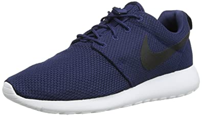 huge discount 015d1 5df05 Nike Roshe One, Baskets Homme, Bleu (Midnight Navy/Black-White)