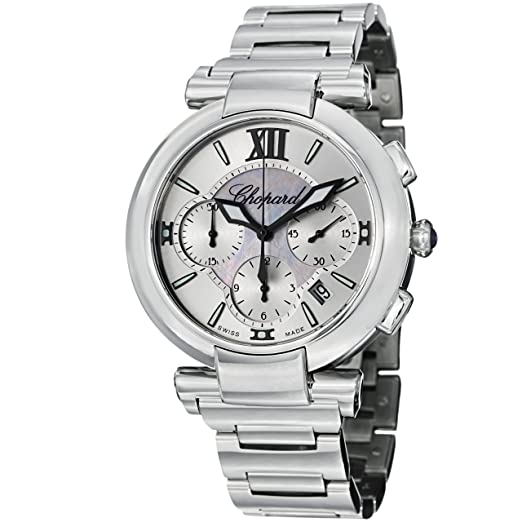 Chopard Imperiale Cronógrafo Madre de Perla Dial Acero inoxidable Acero Damas Reloj 388549 - 3002: Chopard: Amazon.es: Relojes
