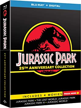 Jurassic Park 25th Anniversary Limited Edition 4 Movies Collection