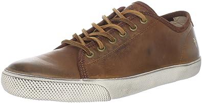 FRYE Men's Chambers Low Sneaker Cognac 7.5 ...