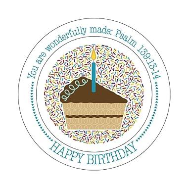 Wonderfully Made  Birthday Plate
