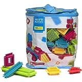 Seek'o Blocks - Jeu de construction 1er âge - Seek'o Blocks Multicolore - Sac 50 pièces - BA1001