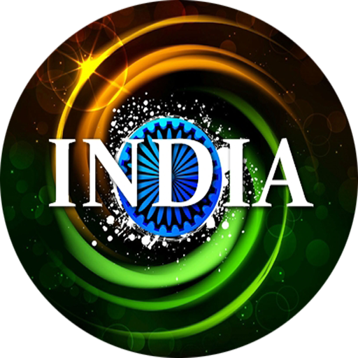 INDIA : Independence Day Frame & Badge - India Com Free