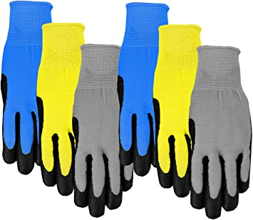 Midwest Glove TM100T Toddler Ninja Turtles Kids Gripping Gloves