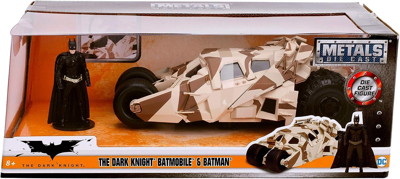 """THE  DARK KNIGHT BATMOBILE TUMBLER 8/"""" DIECAST 1:24  SCALE  METALS   JADA TOYS"""