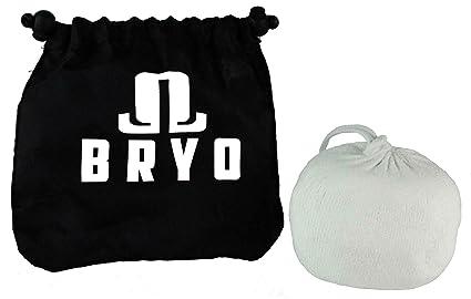 BRYO Calcetín para el hombre - carbonato de magnesio con bolsa de almacenamiento para secarse las