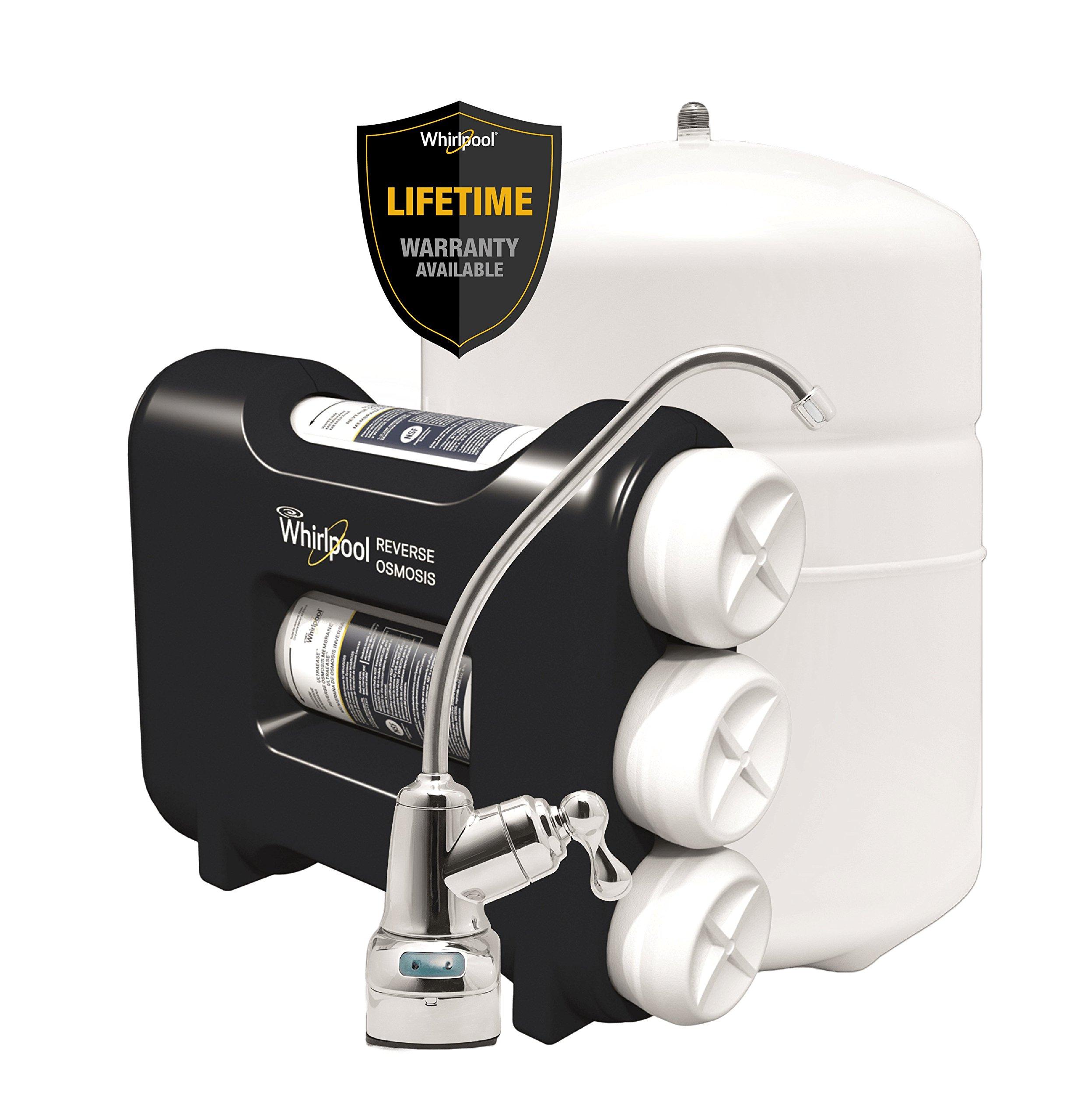 Whirlpool WHAROS5 Reverse Osmosis Water Filter Black