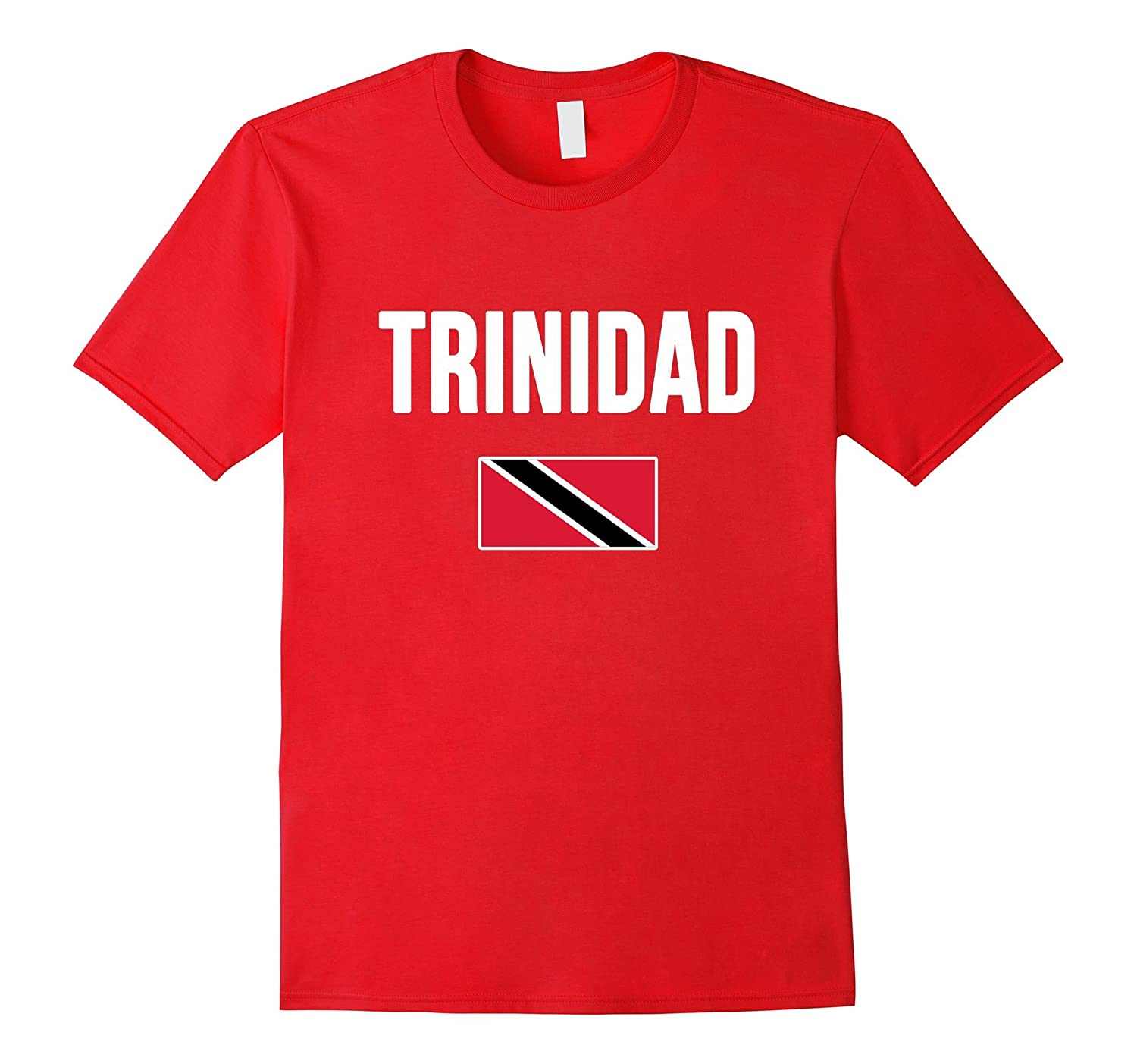 TRINIDAD and TOBAGO T-shirt Trinidadian Flag Tee-CD