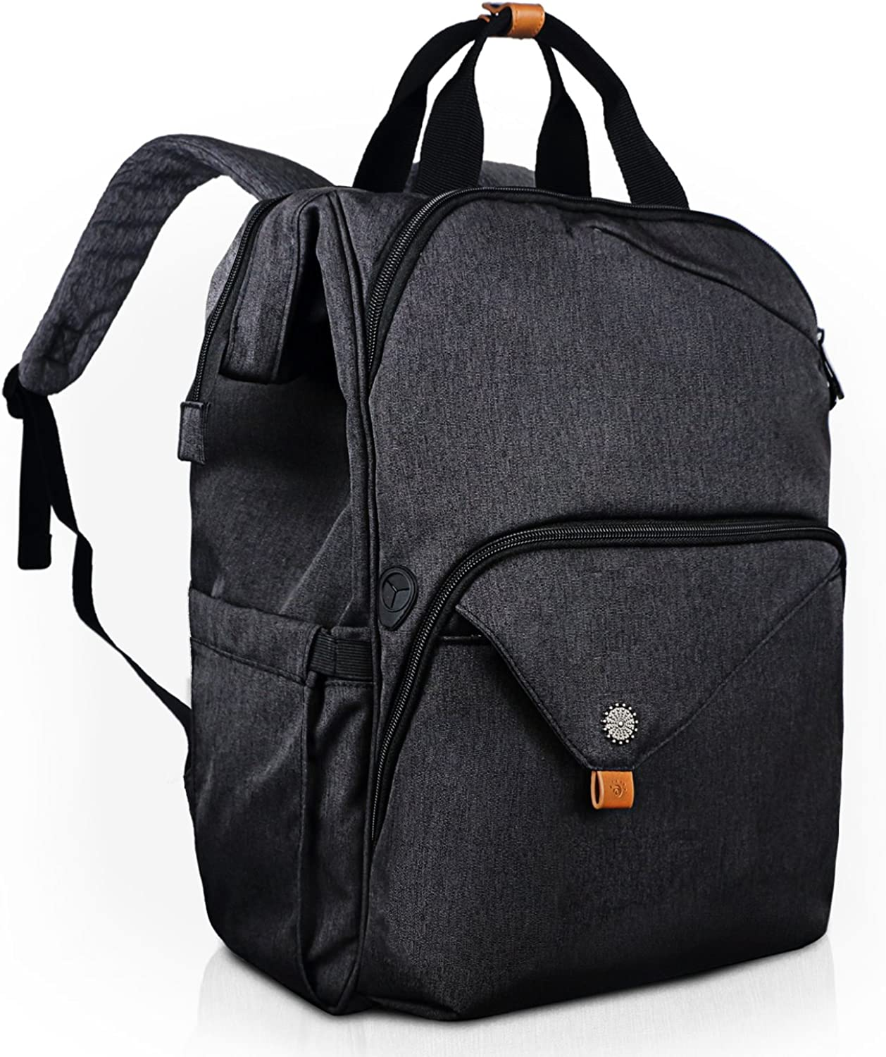 Hap Tim Laptop Backpack with Compartment fits 15.6 Computer for Women Men