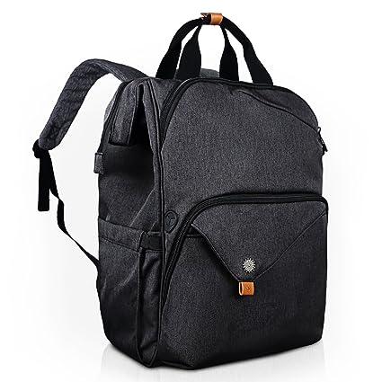 0b8f78f79f56 Hap Tim Laptop Backpack 15.6/14/13.3 Inch Laptop Bag Travel Backpack for  Women/Men Waterproof School Computer Bag Large Capacity Bookbag for ...