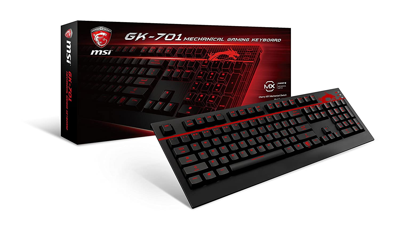 MSI S11-04US220-CL4 USB 2.0 Backlit Mechanical Gaming Keyboard