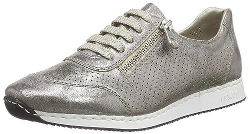 Rieker 56016 Women Low-Top - Zapatillas Mujer: Amazon.es: Zapatos y complementos