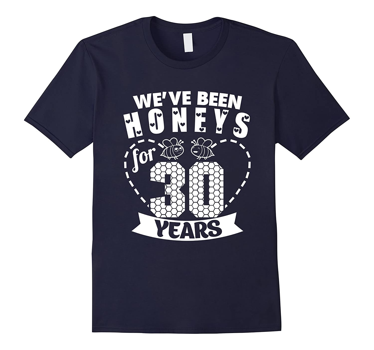 30th Wedding Anniversary Tee Shirt Marriage Gift For Couples