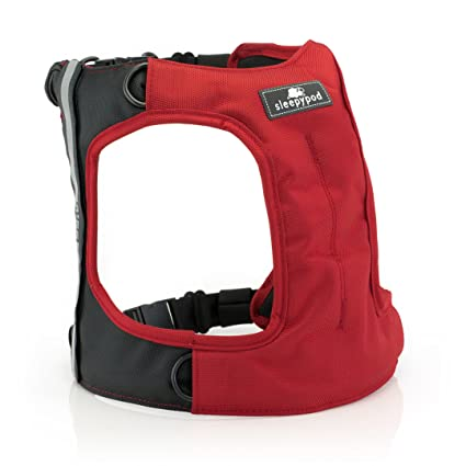 81Iedx OmNL._SX425_ amazon com clickit terrain dog safety harness ( red small