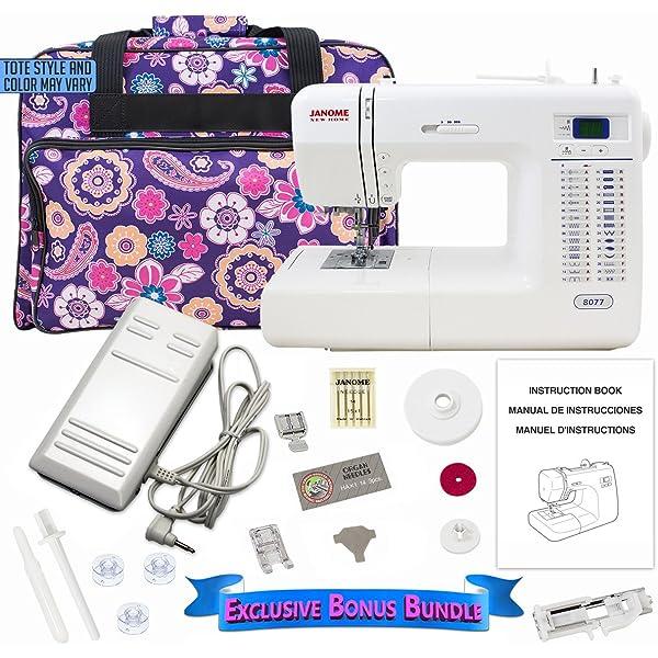 Amazon.com: Máquina de coser Janome: Arte, Manualidades y ...