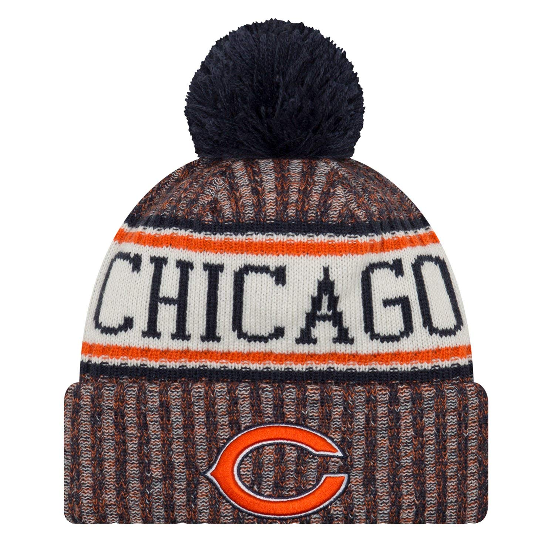New Era Chicago Bears NFL 18 Sideline Sport Knit