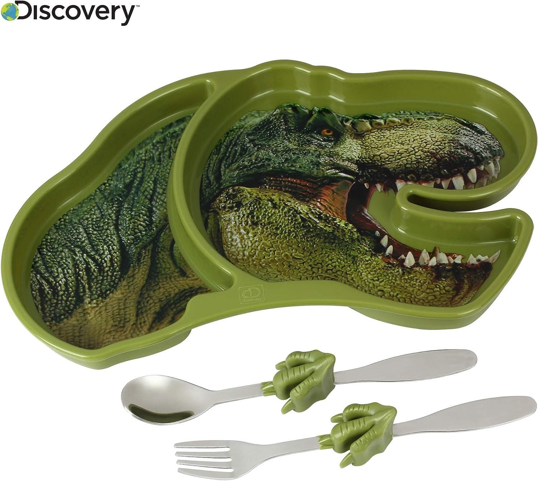 Discovery Jurassic Adventure - Comedero T-Rex talla única verde: Amazon.es: Hogar