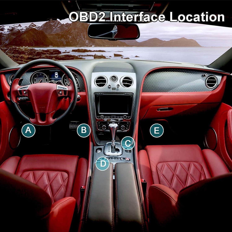 OBD2 OBDII Diagnostica Scanner Auto AUTOOL Diagnostico Strumento per Motore Auto con Tester Batteria Lettore codice guasto motore auto