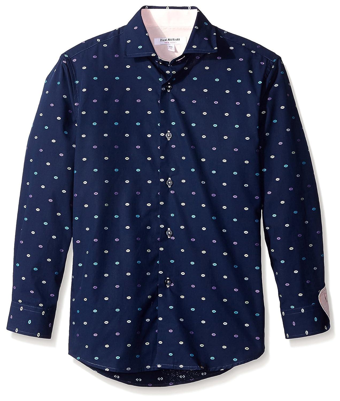 Isaac Mizrahi Boys' Kid's Galaxy Button-up BSH9172