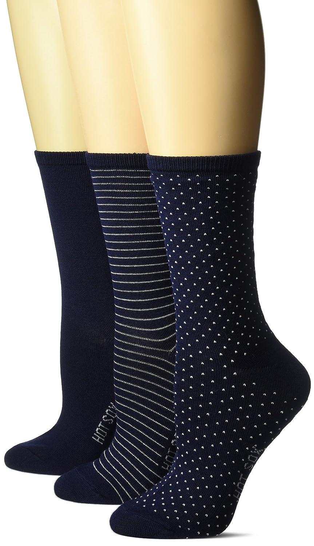 Hot Sox Women's 3 Pack Originals Classics Crew Socks HO000088PK