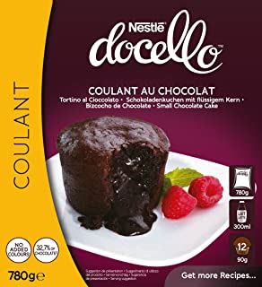 Nestlé Docello Preparado en Polvo para Coulant de Chocolate - 780 gr