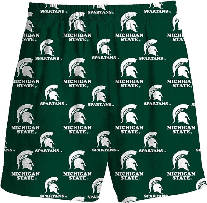 Gen2 Michigan State Spartans Kids Team Colored Printed Pajama Shorts
