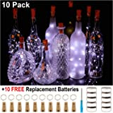 Dashing Wine Bottle Lights With Cork Lights For Bottle 6 Pack 6.5ft 20 Led Bottle Lights Battery Powered Starry String Lights For Diy Bicycle Light