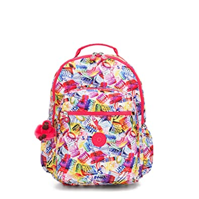 "6f1c2ca58c Image Unavailable. Image not available for. Color: Kipling Seoul Go Large  Printed Laptop 15"" Backpack ..."