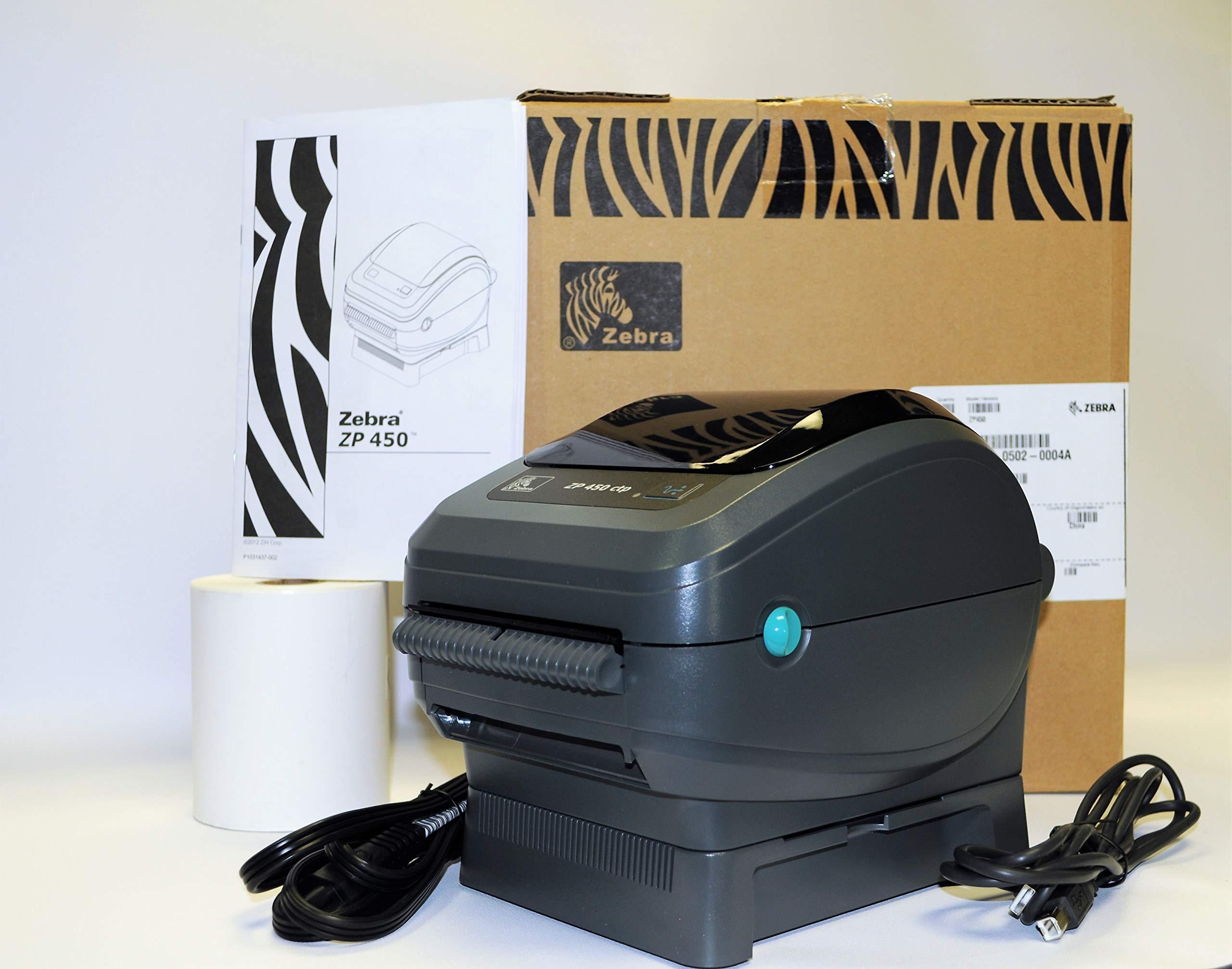 Zebra ZP450-0502-0004 UPS CTP Label Thermal Printer