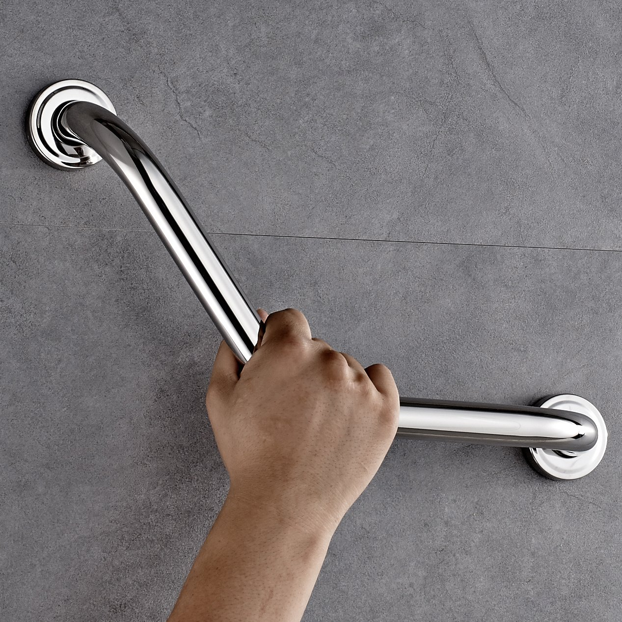 Rovate® 305 × 200 mm Acero Inoxidable Pasamanos Bañera Artículos de Baño Los Niños y Ancianos Mayores Barandilla de Seguridad Pasamanos YTM