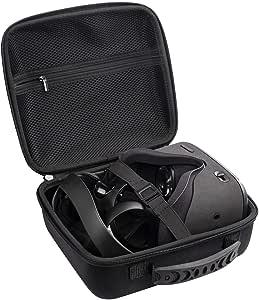 DESTEK VR Case for Oculus Quest/Oculus Go/Samsung Gear/HTC, VR Headset Hard Travel Case, Virtual Reality Storage Bag VR Gamepad Controller Carrying Portable Case