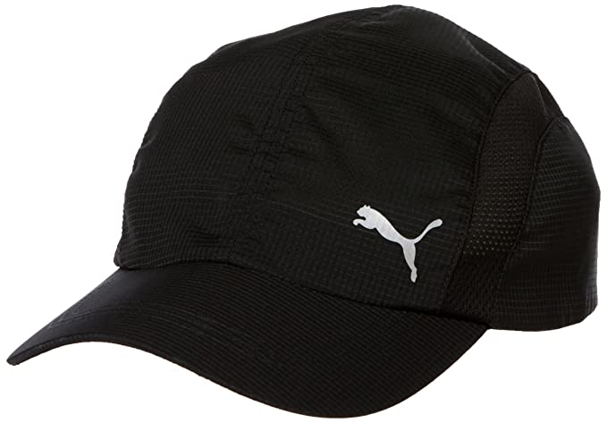 ce38875ac6a1 Puma Men s Cap (2151001 Black One Size)  Amazon.in  Clothing   Accessories