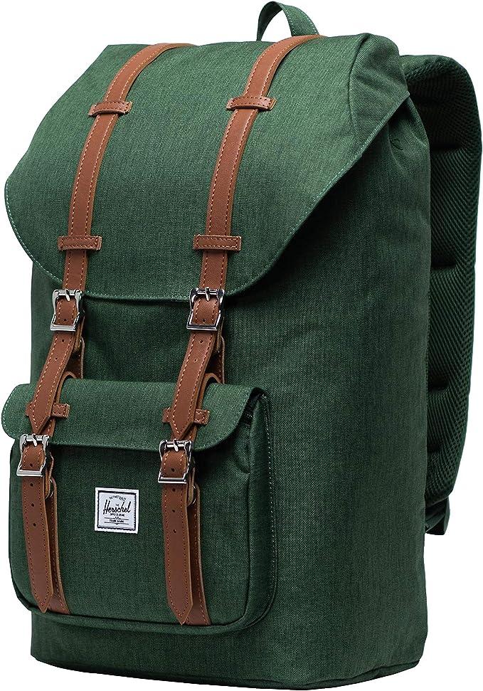 Herschel Little America 10014-03882-OS - Bolsa unisex para adultos, color verde, 10014-03882-OS: Amazon.es: Ropa y accesorios