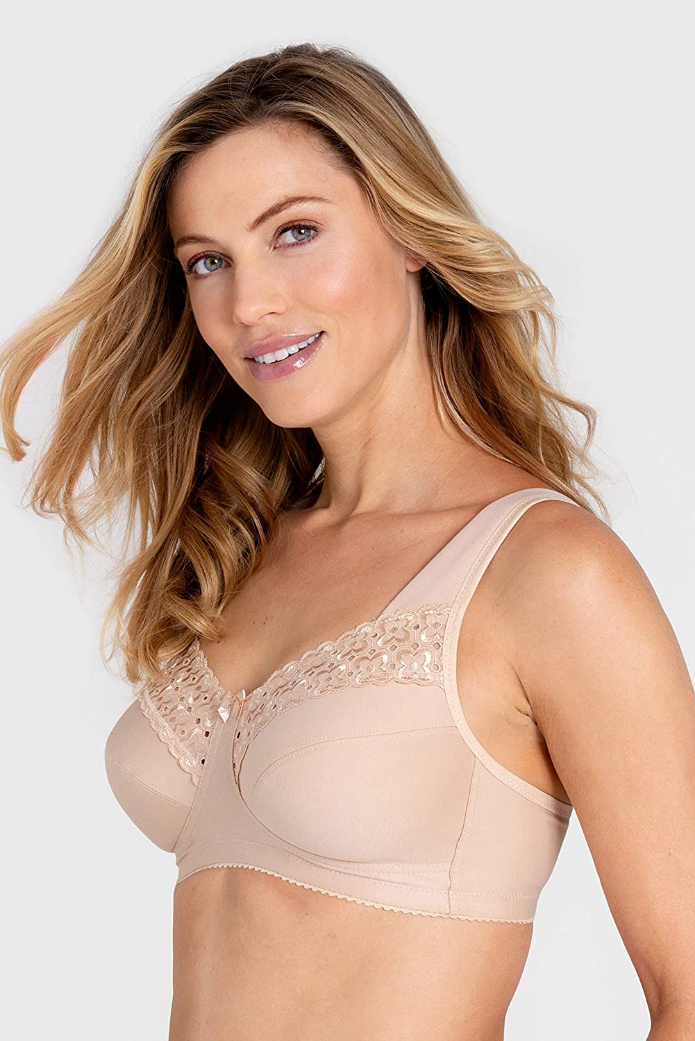 Miss Mary of Sweden Broderie Anglaise Non-Wired Bra