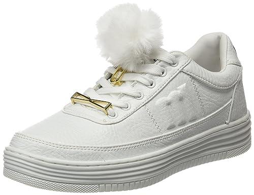 MTNG Paz, Zapatillas Mujer, Blanco (Action Pu Blanco), 39 EU: Amazon.es: Zapatos y complementos