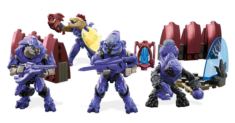 Mattel Mega Bloks DLB96, construction toy, Halo Covenant Warriors