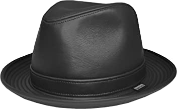 8ca9108a Emstate Cowhide Leather Fedora Made in USA