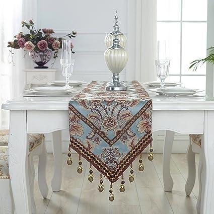 Tapetes para la mesa camino de mesa bordado mantel de tela de ...