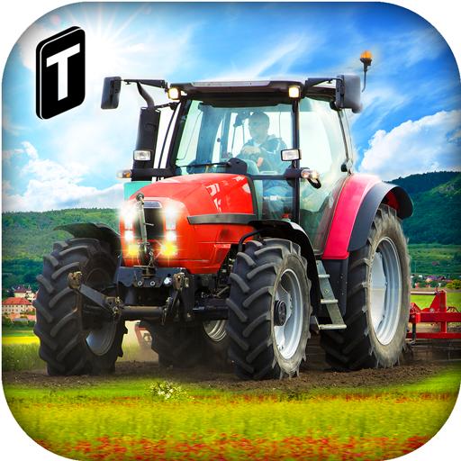Hill Farmer Sim 3D - Field Road Hill